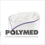 Boneta hartie cu dunga color - Polymed