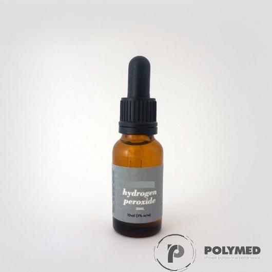 Apa oxigenata 3%, flacoane cu picurator - Polymed