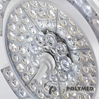 Lampa operatie Pentaled 105+105E montare pe tavan - Polymed
