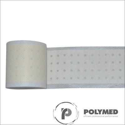 Plasture hipoalergen din netesut, elastic, pentru fixarea pansamentelor pe intreaga suprafata, rola