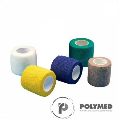 Bandaj coeziv, rola, 2.5 cm x 4.5 m, rola, diverse culori