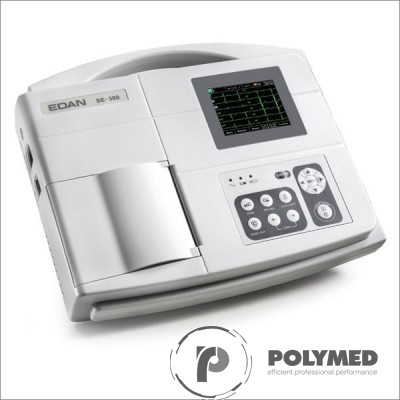 Electrocardiograf portabil cu 3 canale SE-300B - Polymed