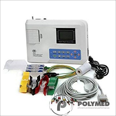 Electrocardiograf portabil 3 canale Contec ECG300G - Polymed