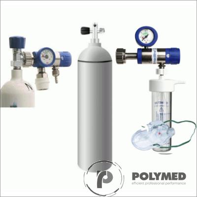 utelie oxigen - set complet oxigenoterapie, 5 litri - Polymed
