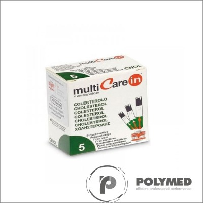 Teste colesterol pentru Multicare IN - 5 teste - Polymed