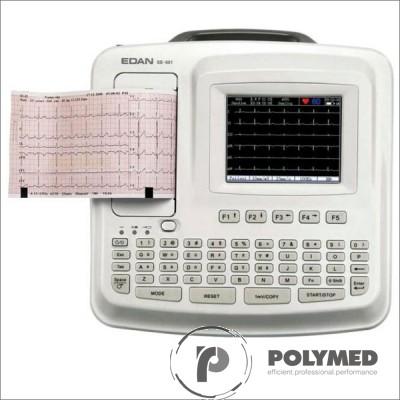 Electrocardiograf portabil cu 6 canale SE-601B - Polymed