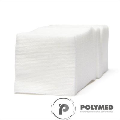 Comprese sterile, 7.5x7.5, 5 bucati, 8 straturi, 22 gr/m2 - Polymed