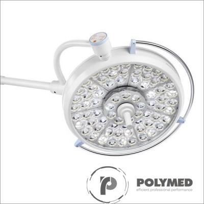 Lampa operatie Pentaled 105+81E montare pe tavan - Polymed