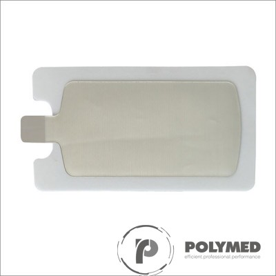 Electrod neutru adulti pentru electrocauter, de tip placuta, cu gel solid