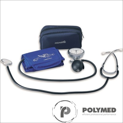Tensiometru aneroid cu stetoscop AG1-40 Microlife - Polymed