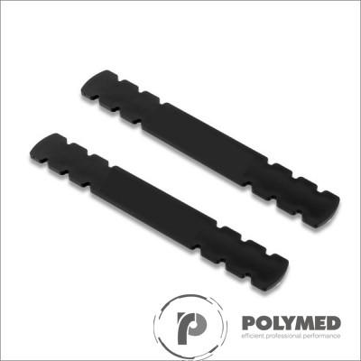 Atela din material plastic, 18.7 cm x 2.7 cm, 2 buc.