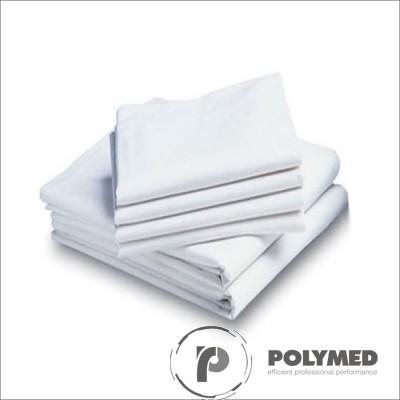 Cearceaf pat PPSB, fara elastic, 80 cm x 180 cm, 10 buc.