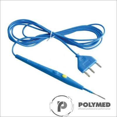 Bisturiu electrocauter universal, 70 mm, cablu 3 m, albastru