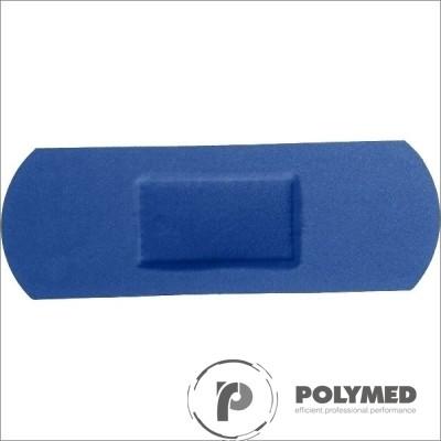 Plasturi albastri, detectabili, cu insertie metalica, 19 cm x 72 cm