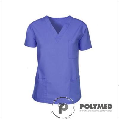 Bluza unisex, maneca scurta - Polymed