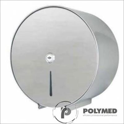 Dispenser inox prosoape hartie pliate in C si M, cu oglinda si cheie