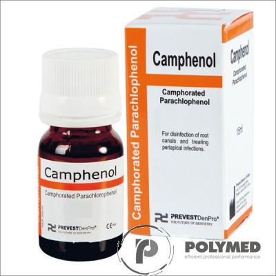 Solutie dezinfectare canal radicular Camphenol - Polymed
