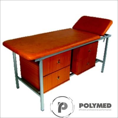 Canapea examinare, 2 sectiuni, CE-2VN - Polymed