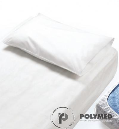 Cearceaf pat impermeabil, PPSB laminat cu PE, elastic la colturi, 10 buc.