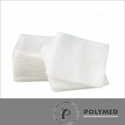 Comprese sterile, 10 cm x 8 cm - Polymed