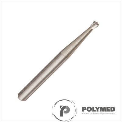 Freze carbid extradure pentru turbina, con invers - Polymed