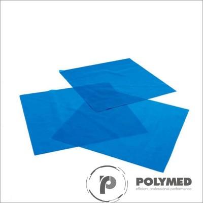 Diga latex mentolata, nepudrata, 15 cm x 15 cm, grosime medie, 36 buc.
