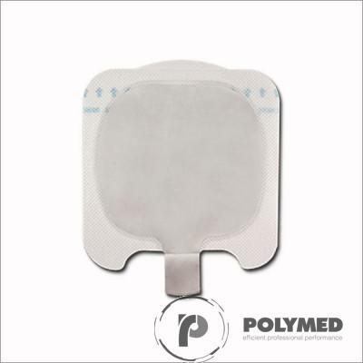 Electrod neutru copii pentru electrocauter, de tip placuta, cu gel solid