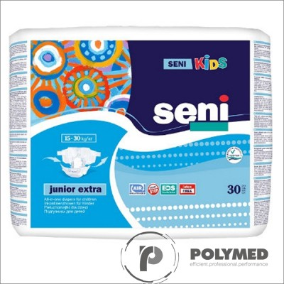 Scutece Seni Kids Junior Extra, 16-30 kg - Polymed