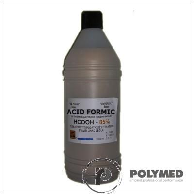 Acid formic 85% p.a., 1 litru - Polymed