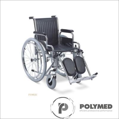 Fotoliu rulant cu suport pentru picioare reglabil FS902C