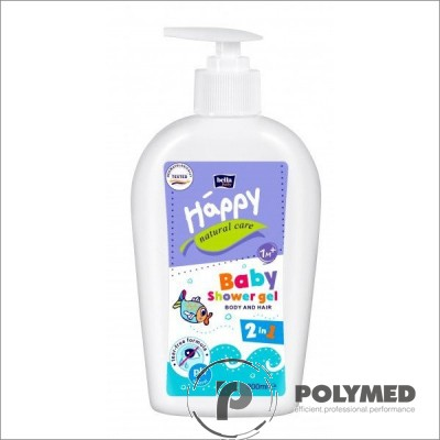 Gel de dus Happy Natural Care - Polymed