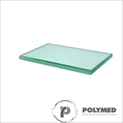 Placuta mixare, sticla mata  - Polymed