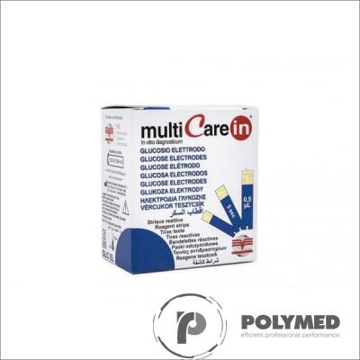 Teste glucoza pentru Multicare IN - 25 teste - Polymed