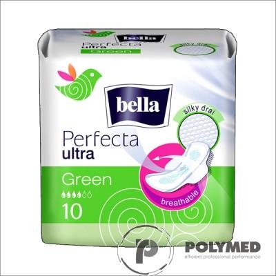 Absorbante subtiri Perfecta Ultra Green - Polymed