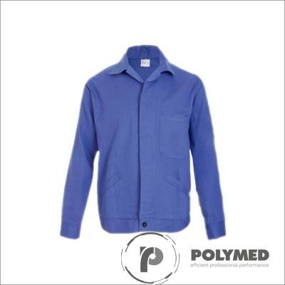 Haina de lucru unisex, albastru, XS-XL - Polymed