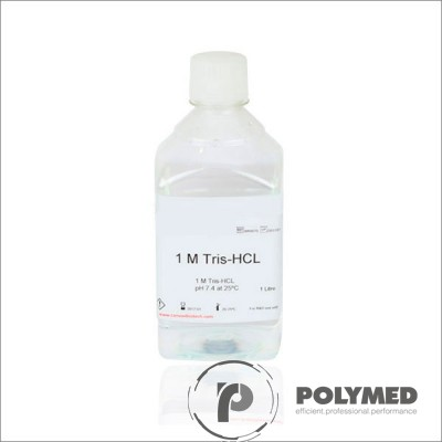 Solutie tampon Tris-HCl, concentrata 5x, 1 litru - Polymed