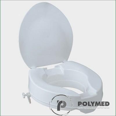 Inaltator de plastic pentru scaun de WC FS667B, 10 cm