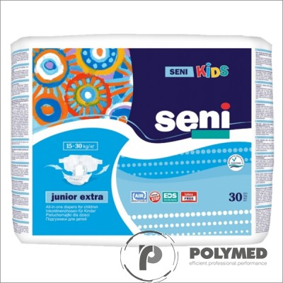 Scutece Seni Kids Junior, 12-25 kg - Polymed