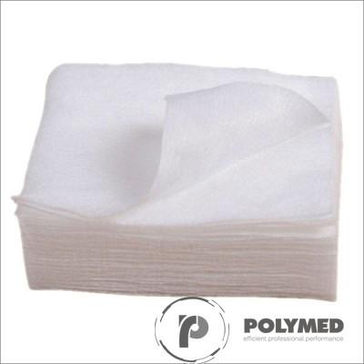 Laveta cosmetica TNT, 50 buc. - Polymed
