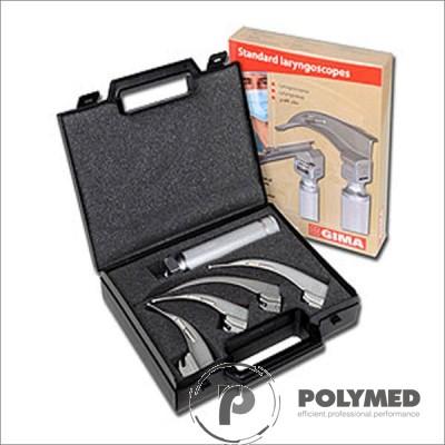 Laringoscop Standard 4 lame McIntosh 1-2-3-4 - Polymed