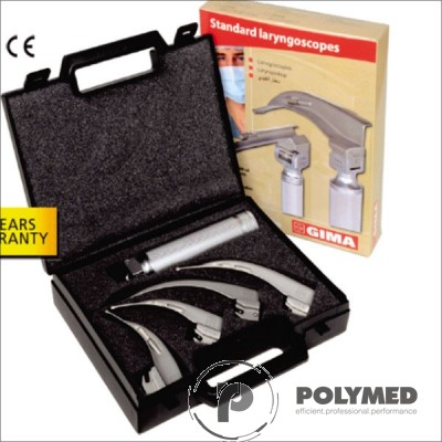 Laringoscop Standard pediatric 2 lame Miller 0-1 - Polymed