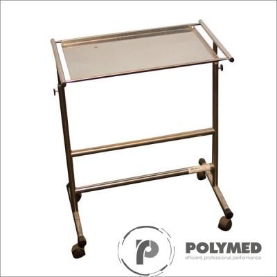 Masa instrumentar operatie, inox, MIO - Polymed