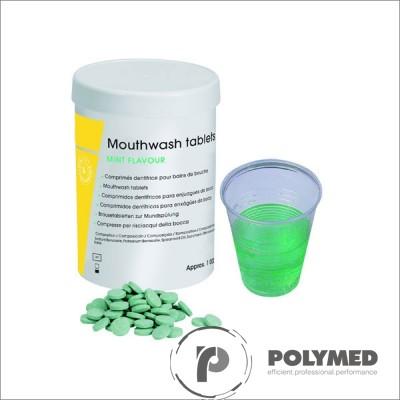 Tablete apa gura cu aroma de menta, 1000 buc.
