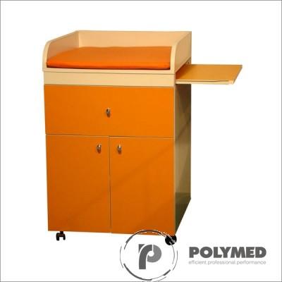 Masa consult si infasat sugari, mobila, MS2P - Polymed