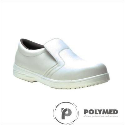 Pantofi protectie S1, albi, 35-47 - Polymed
