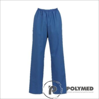 Pantaloni lucru unisex, albastru, XS-XL - Polymed
