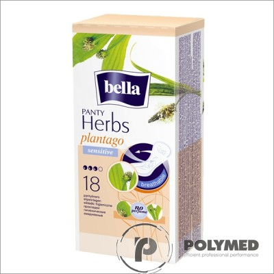 Absorbante zilnice Bella Herbs Panty Sensitive Patlagina - Polymed