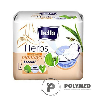 Absorbante igienice Bella Herbs Sensitive Patlagina - Polymed