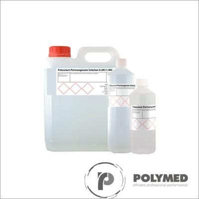 Permanganat de potasiu, 0.1N/1N, 1 litru - Polymed