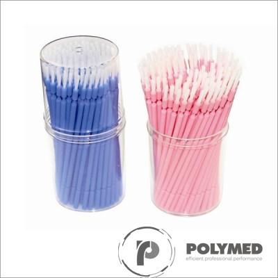 Periute aplicatoare, roz/albastru, 50 mm x 110 mm, 100 buc.